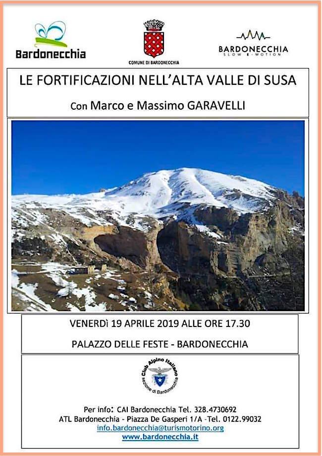 Conferenza: le Fortificazioni in Alta Valle di Susa