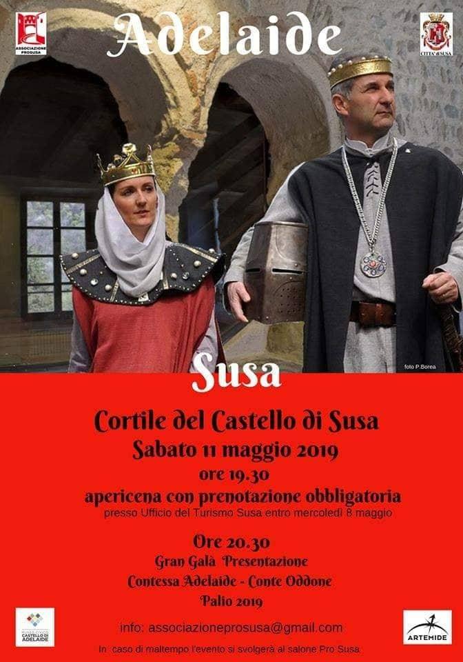Presentazione della Contessa Adelaide e del Conte Oddone di Susa