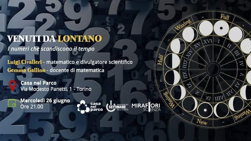 Settimane della Scienza: Venuti da lontano. I numeri che scandiscono il tempo.