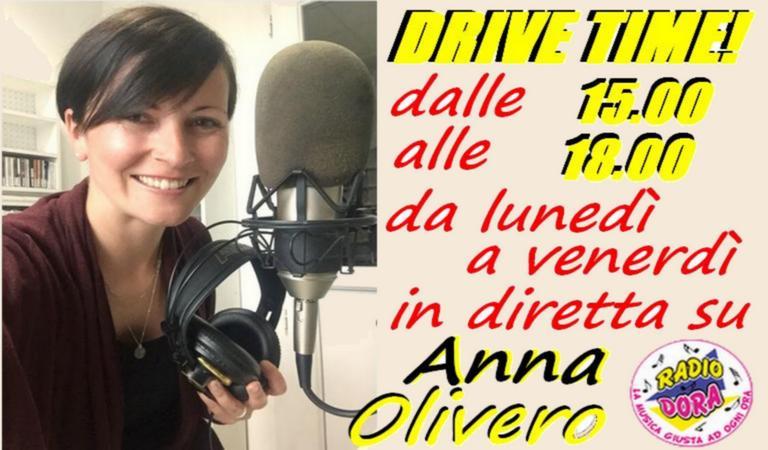"""Radio Dora : """"Drive Time!"""" con Anna Olivero"""
