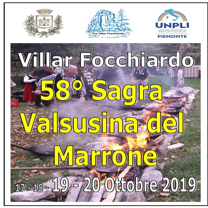 Sagra valsusina del Marrone: siamo alla 58° edizione!