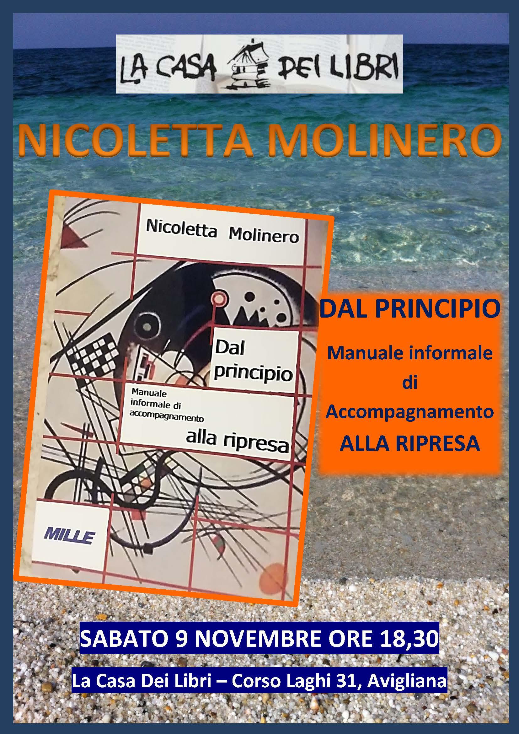 Dal principio, manuale informale di accompagnamento alla ripresa. Il libro di Nicoletta Molinero.