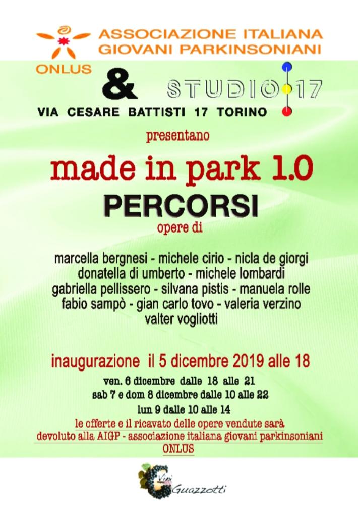 Associazione Italiana Giovani Parkinsoniani: Made in Park 1.0