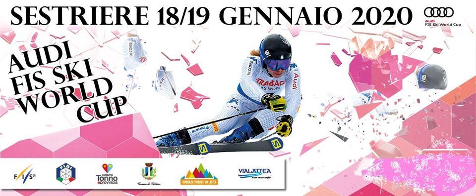 Tutto pronto per la Coppa del mondo di sci femminile al Colle del Sestriere