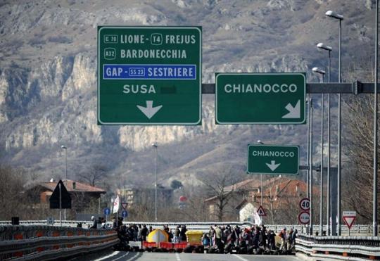 A32: Chiusura dello svincolo di Chianocco in direzione Bardonecchia
