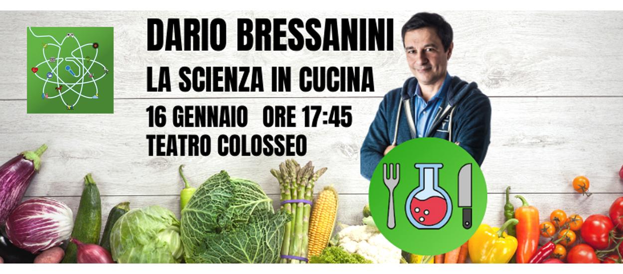 """Ritornano gli appuntamenti con GiovedìScienza: oggi pomeriggio """"Scienza in cucina"""" con Dario Bressanini"""
