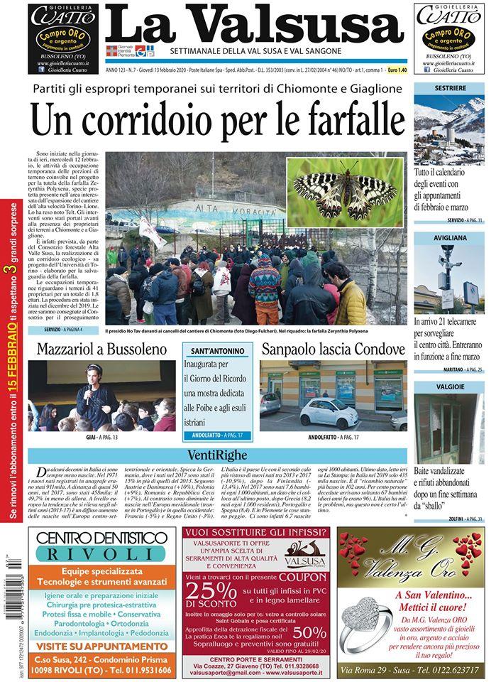 """In collegamento con """"La Valsusa"""": la diretta con Giorgio Brezzo"""