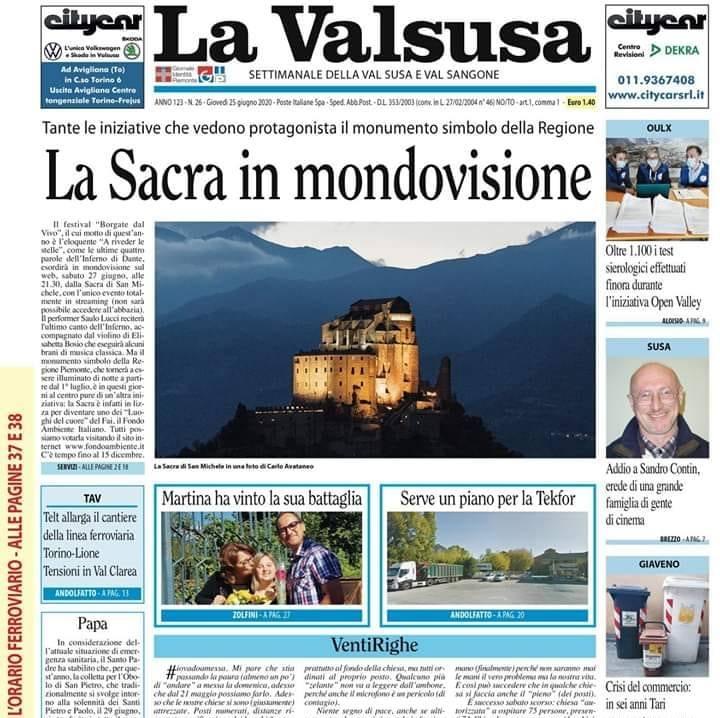 La Valsusa in diretta con Giorgio Brezzo