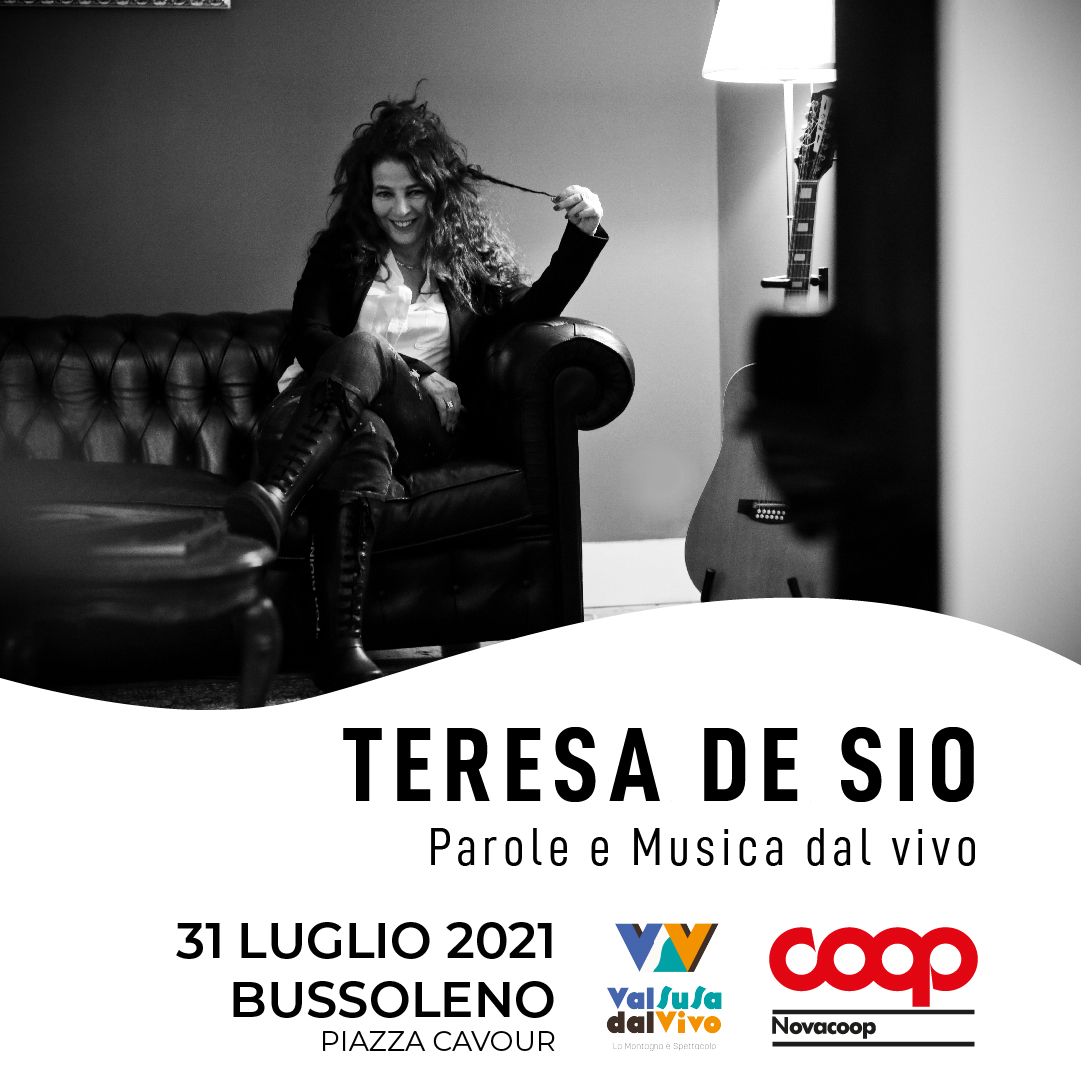 Sabato 31 a Bussoleno la cantautrice Teresa De Sio dialoga con Saverio Tommasi