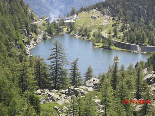 Silviadizenzero in gita al lago Arpone domenica 1 agosto