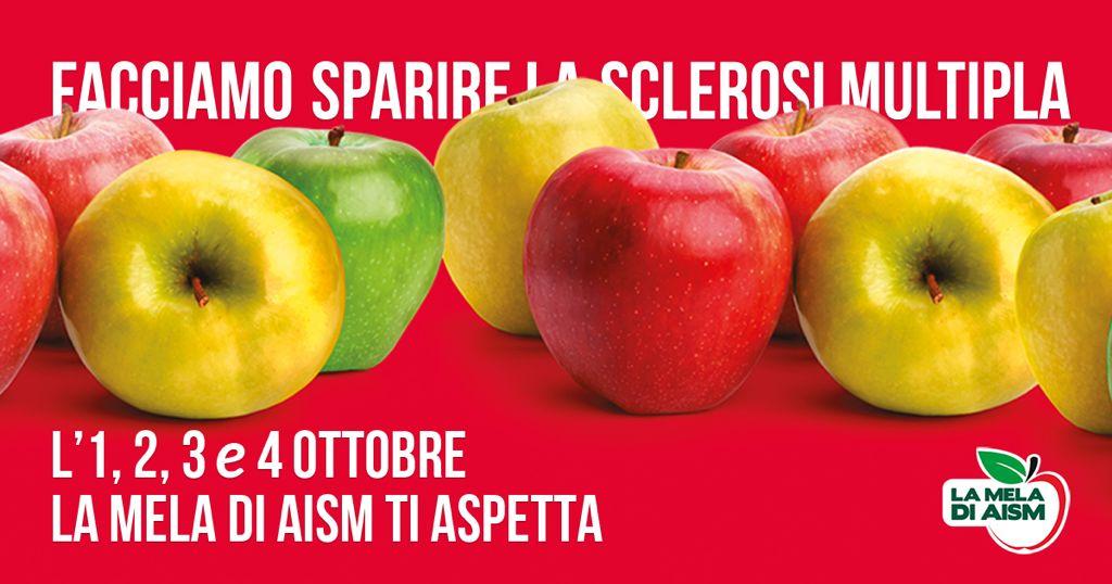 Torna in tutta Italia la mela di AISM: ne abbiamo parlato con Barbara Grandoni